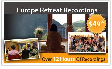 2014 Europe retreat recordings