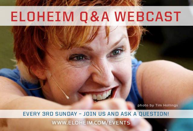 Ask Eloheim a question during our monthly Q&A!