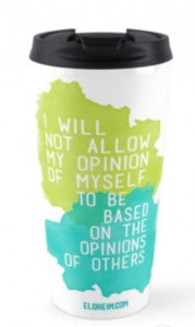 opinion travel mug